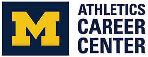 Michigan Athletics Career Center Logo